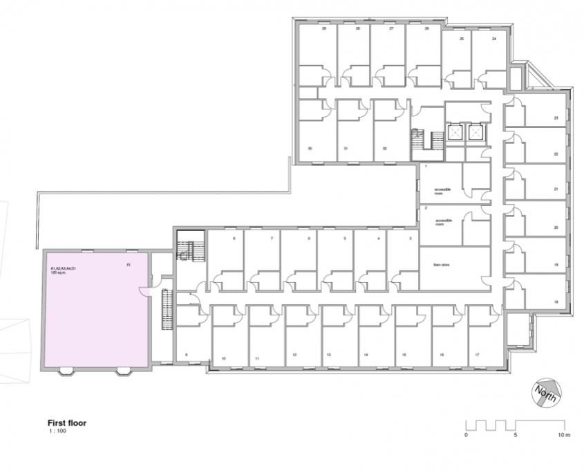 Bircherley Green - Unit Plan - First Floor