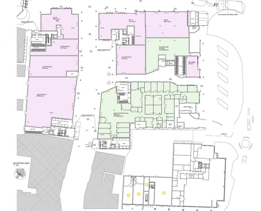 Bircherley Green - Unit Plan - Ground Floor