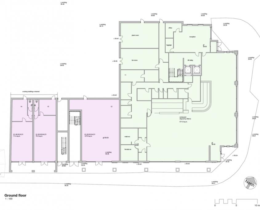Bircherley Green - Unit Plan - Ground Floor (Restaurant)