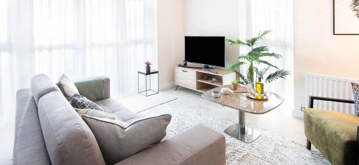 Forster Oaks - Apartment - Living Area