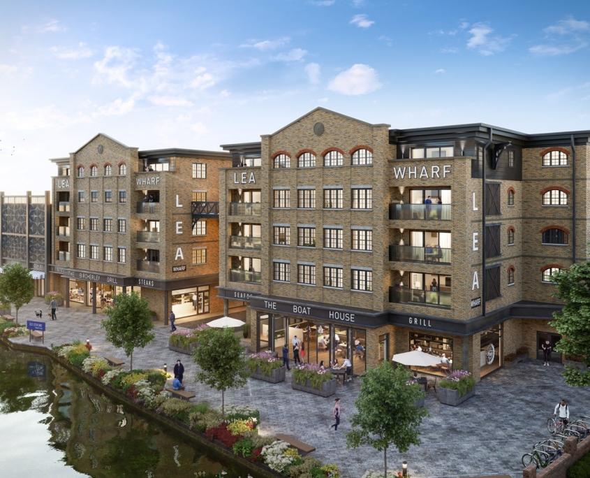 Lea Wharf Development