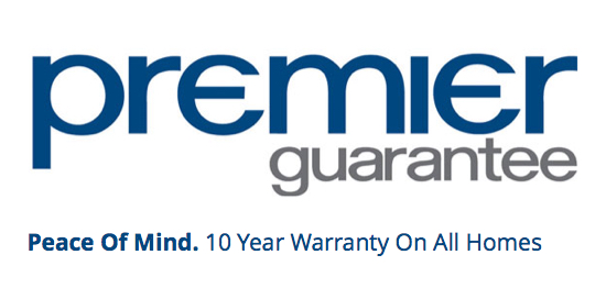 Premier Guarantee - 10 Year Warranty On All Homes