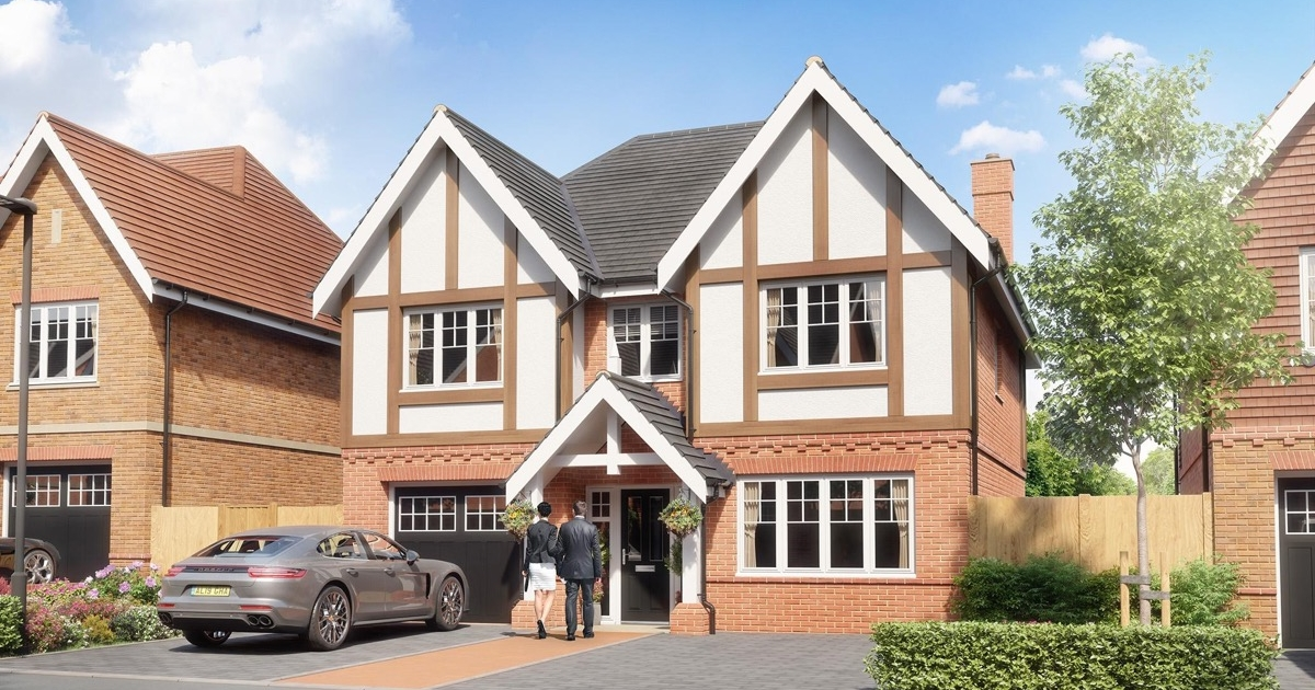St. Edwards Gate, Cuffley - House B