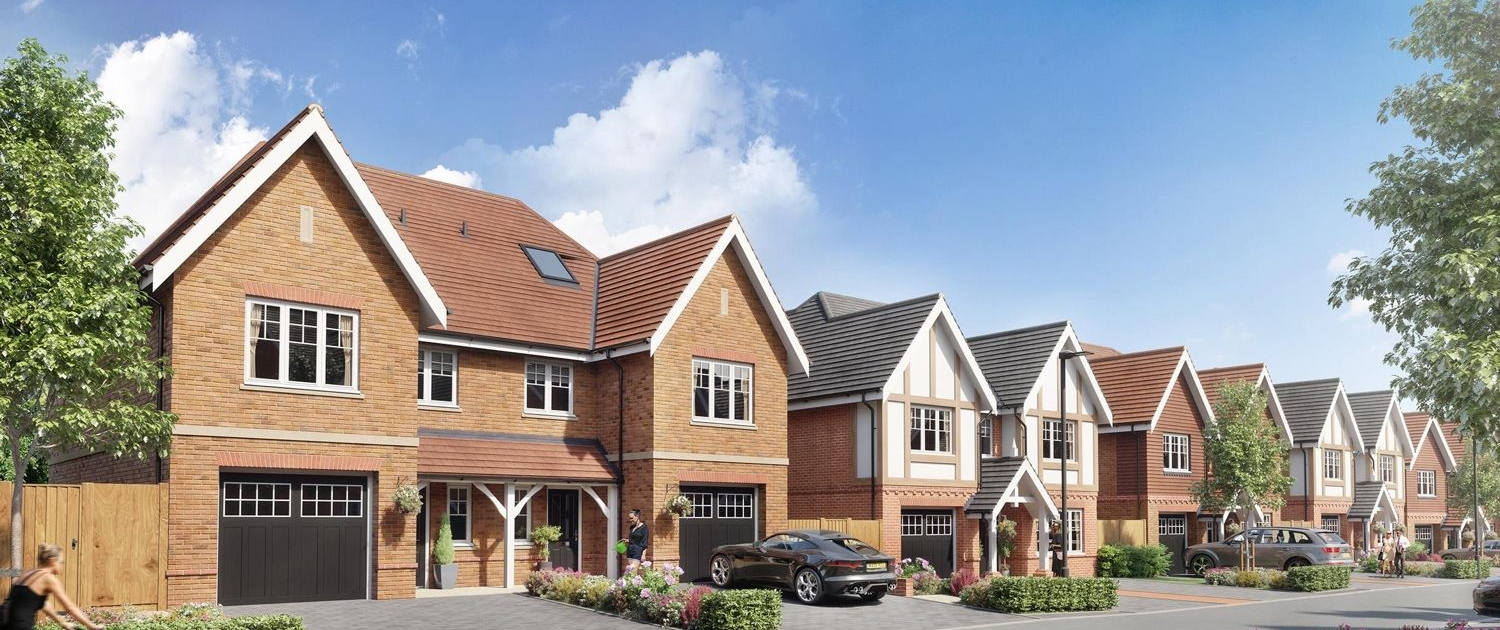 St. Edwards Gate, Cuffley - New Home Development