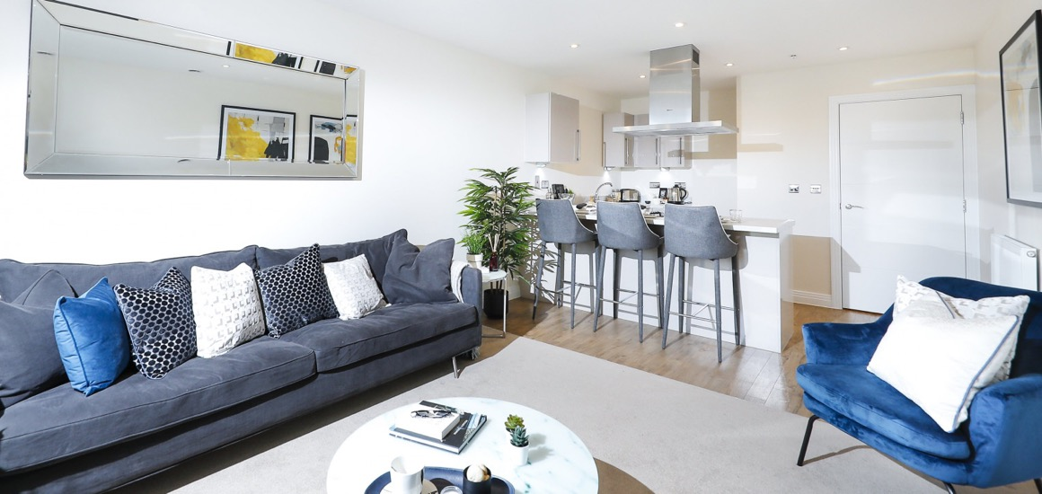 Times Square - Welwyn Garden City - Living Area
