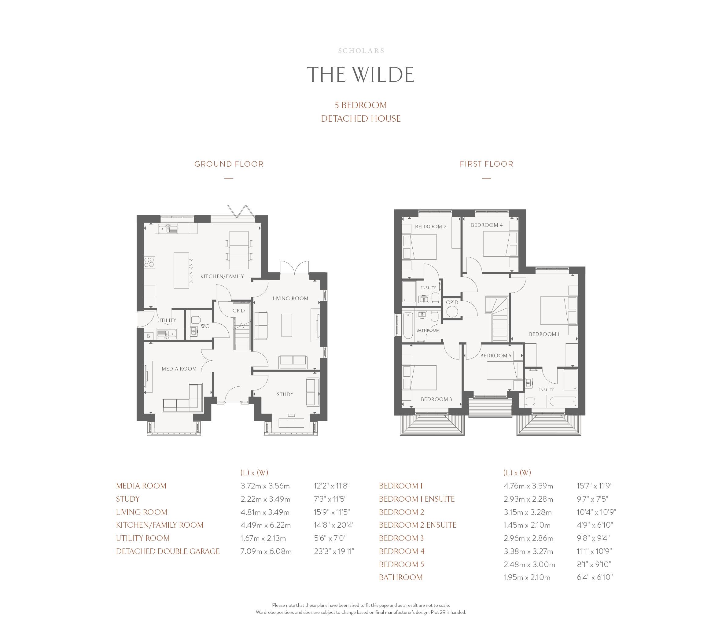 The Wilde - Floor Plan