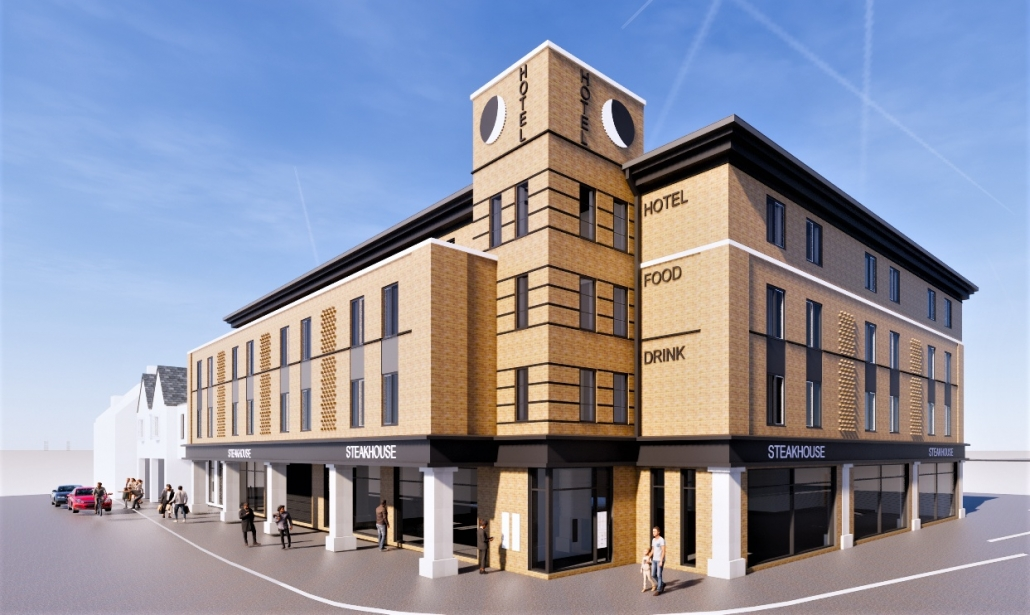 Hertford Hotel Development - Railway Street