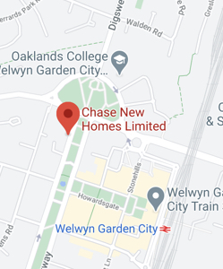Chase New Homes address